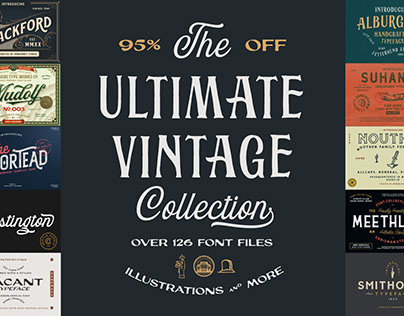 The Ultimate Vintage Collection - 95% Off
