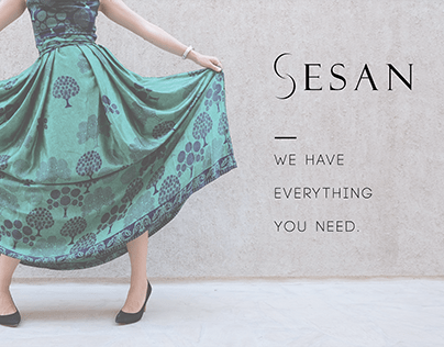 SESAN || Clothes' Store || Brand Identity