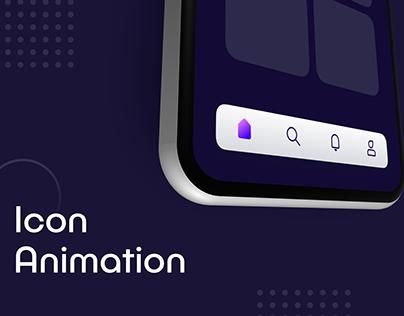 Navigation Icon Animation