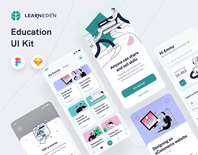Learn Eden Education UI Kit