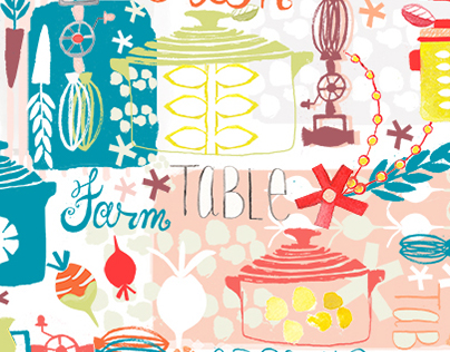 Farm + Table Surface Pattern