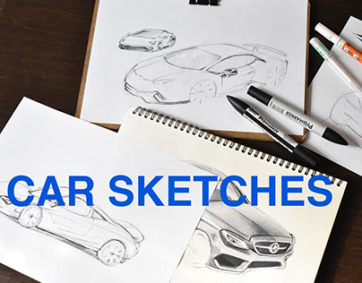 First Car Sketches 2017
