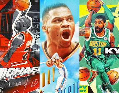 Official NBA Social Media Graphics 2018-19