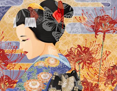 RICOH Pro Cシリーズのインビジブルレッドサンプル「蝶々夫人」