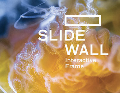 Slide wall, an interactive frame