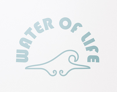 """Water Of Life"" logo"