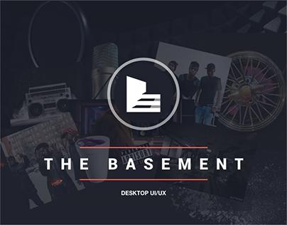 The Basement - Responsive UX Design