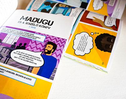 Madugu és a beszélő könyv