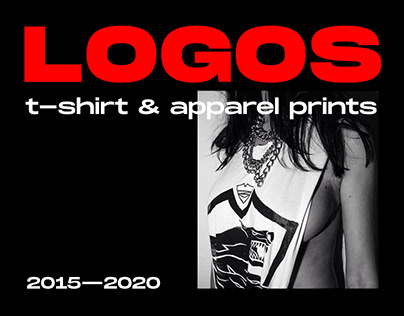 LOGOS: T-shirt & Apparel prints