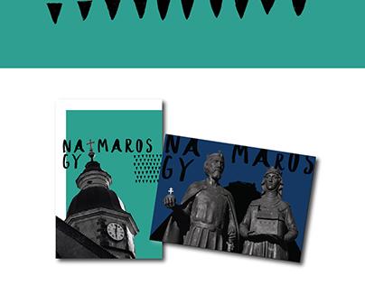 Nagymaros postcards