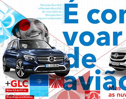 Mercedes-Benz - Anúncio SUV's