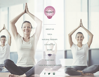 Yoga and Health Collective website (2015)