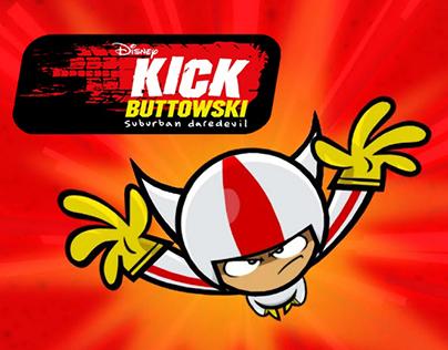 Disney XD. Racing game for Kick Buttowski - Game design