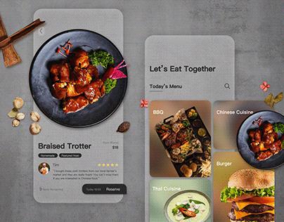 Daily UI Challenge 04 - Food Sharing