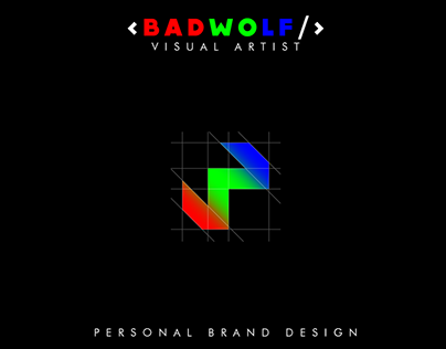 BADWOLF - Personal Brand Design
