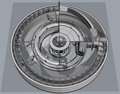Archviz: A Study of Concentric Architecture