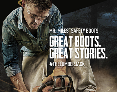 Mr. Miles Safety Boots