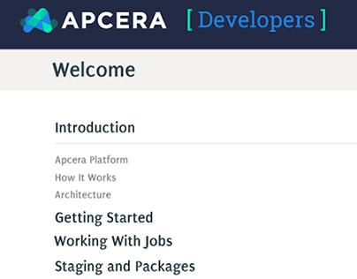 Apcera Documentation Site Layout