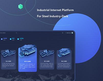 Industrial Internet Platform For Steel Industry-Dark