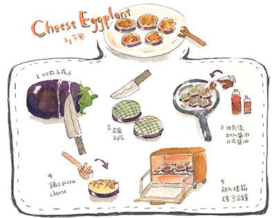 recipe: cheese eggplant