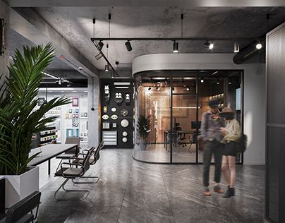 Electrical goods showroom