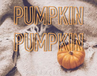 Pumpkin Pumpkin Fonts