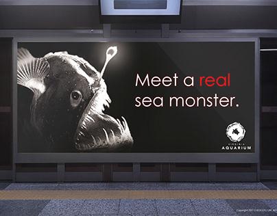 Aquarium Mock-Ad