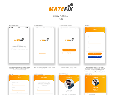 App Design | Freelance Services App