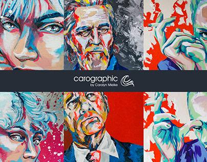 artworks #carographic by Carolyn Mielke