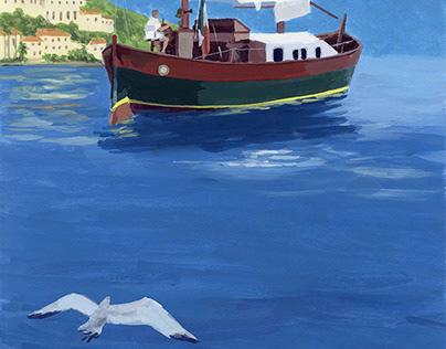 海をゆくイタリア