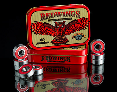REDWINGS SKATE BEARINGS