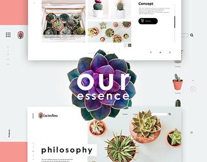 Cactus Rose - Web proposition