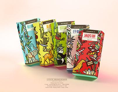 【体茶】养生茶饮包装Tea Packaging