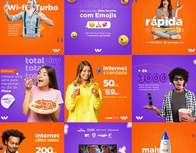 SOCIAL MEDIA - PROVEDOR DE INTERNET