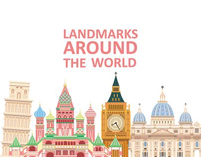 Landmarks Around the World (part 1)