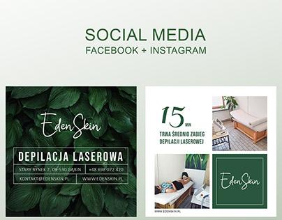Social media - facebook / instagram
