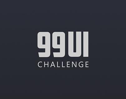 99 UI challenge