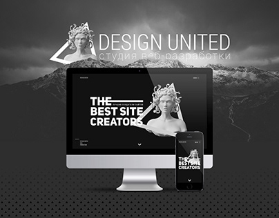Design United Studio landing page