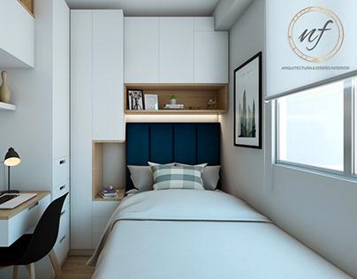 NF Arq & Diseño Interior Proy. LosOlivos I Dormitorio H