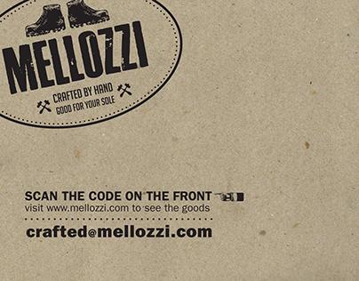 Mellozzi Footwear brand identity
