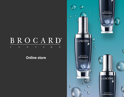 Online store for cosmetics and perfumes
