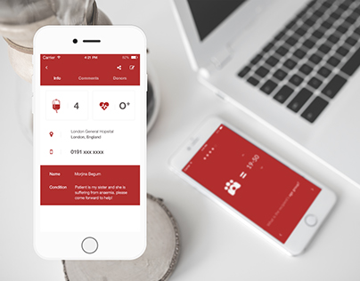 Blood Mobile App
