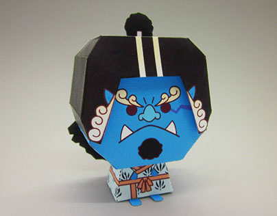 One Piece_Papertoy_2