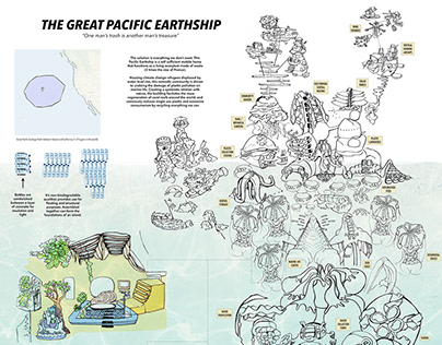 The Great Pacific Earthship