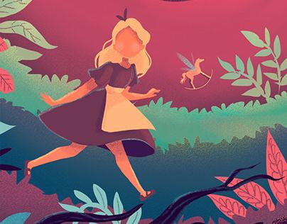 Alice in wonderland desing