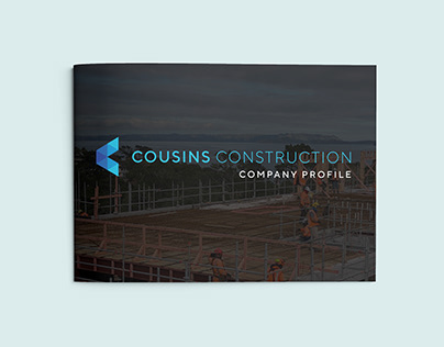 Company Profile Brochure for a Construction Business