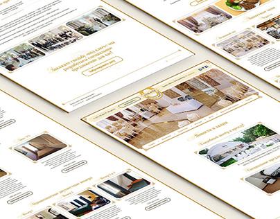 Zpodkova. Design, HTML&CSS. 2015