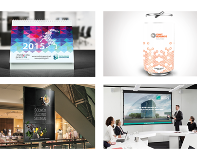 Various graphic design projects 2012-2016