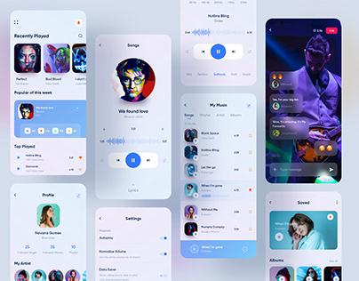 Music Player Mobile Application Design