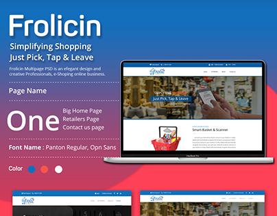 FrolicIn Design Layout